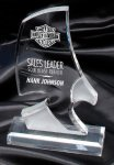 Phantom Eagle Clear Award Achievement Acrylic Awards