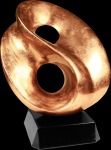 Gold Art Sculpture Award Achievement Awards