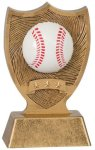 Plastic Sport Shield Baseball Award Baseball Trophy Awards