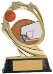 Basketball Cosmic Resin Trophy Basketball Trophy Awards