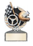 Racing Multi Color Sport Resin Figure Car/Automobile Trophy Awards