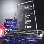 San Marcos Goal-Setter Corporate Crystal Awards
