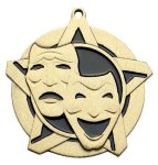 Drama Super Star Medal  Gold Drama Trophy Awards
