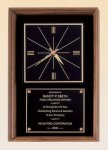 American Walnut Wall Clock Executive Gift Awards