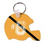 Glossy Aluminum Helmet Key Chain Football Trophy Awards