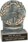 Football - Wreath Resin Trophy Football Trophy Awards