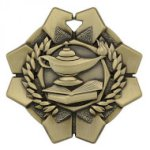 Imperial Lamp of Knowledge Medals Football Trophy Awards