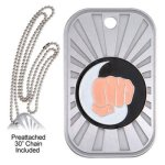 Karate Dog Tag GL Series Dog Tags