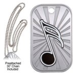 Music Dog Tag GL Series Dog Tags