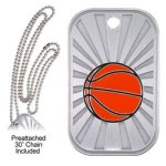 Basketball Dog Tag GL Series Dog Tags