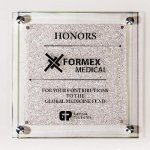 Star Fire Glass Plaque Glass Plaques