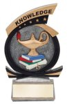 Gold Star Knowledge Award Gold Star Resin Trophy Awards