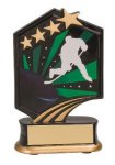 Hockey Resin Trophy Graphic Star Resin Trophy Awards