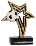 Soccer Infinity Star Resin Infinity Star Resin Trophy Awards