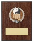 Karate Resin Plaque Mount Award Karate Trophy Awards