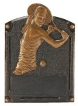 Tennis Female Legends of Fame Award Legends of Fame Resin Trophy Awards