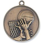 Basketball Medal Bronze M90/M91 Series Medal Awards