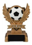 Soccer Victory Wing Resin Figure - Copy Multi-Activity Mylar Resin Trophy Awards
