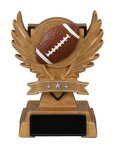 Football Victory Wing Resin Figure Multi-Activity Mylar Resin Trophy Awards