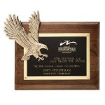 Soaring Eagle Plaque Sales Awards