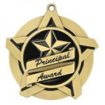 Principal Award Super Star Medal Scholastic Trophy Awards