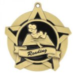 Reading Super Star Medal  Scholastic Trophy Awards