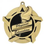 Physical Education Super Star Medal Scholastic Trophy Awards