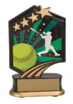 Softball Resin Trophy Softball Trophy Awards