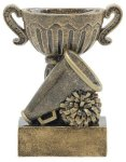 Sport Cup Cheerleading Antique Gold Sport Cup Resin Trophy Awards