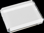 Crystal Rectangle Paperweights Square Rectangle Awards