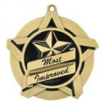 Most Improved Super Star Medal Super Star Medal Awards