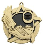 Cross Country Super Star Medal Gold Super Star Medal Awards