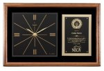 Walnut Wall Clock Plaque Wall Clock Plaques