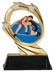 Wrestling Cosmic Resin Trophy Wrestling Trophy Awards
