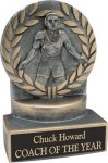 Wrestling - Wreath Resin Trophy Wrestling Trophy Awards