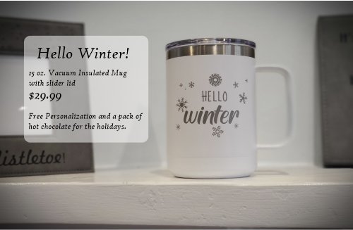 Hello Winter 15 oz. Mug